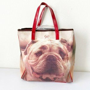 Anya Hindmarch Bulldog Purse Bag Tote